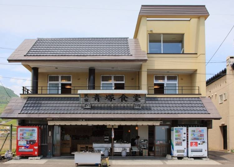 A famous diner operated by a fisherman overflowing with genuine hospitality