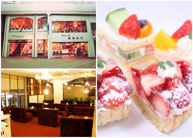 "Visit Otaru`s representative pastry shop, ""Otaru Amato"""