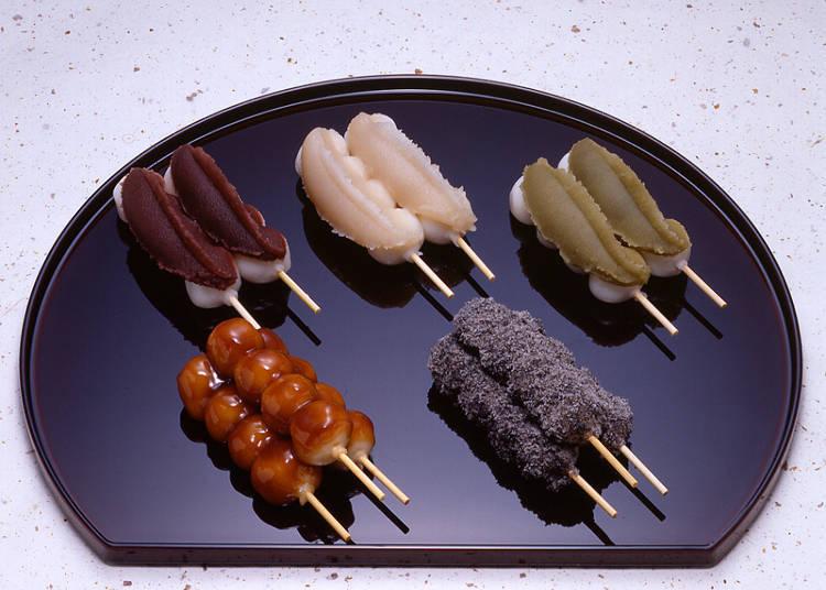 "If you are looking for Japanese sweets, head to the ""Kasyo Otaru Nikuraya Hanazono Honten"""