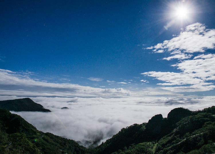 雲上の絶景を見ることができるかも!?「オロフレ峠展望台」