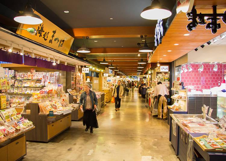 国内線2階「ショッピング・ワールド」/おすすめ3「どさんこ産直市場」