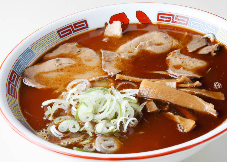 "The tradition of ""Asahikawa Ramen,"" filled with wavy noodles, soy sauce, and lard"