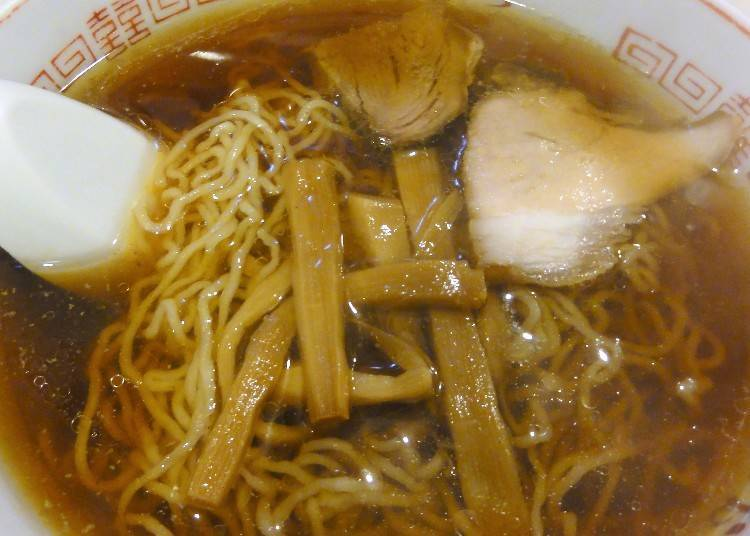 """Kushiro ramen"" the mellow soy sauce flavor only available in Kushiro"