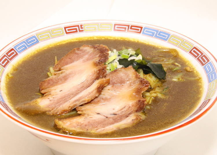 """Muroran curry ramen"" the beginning of a new ramen!"