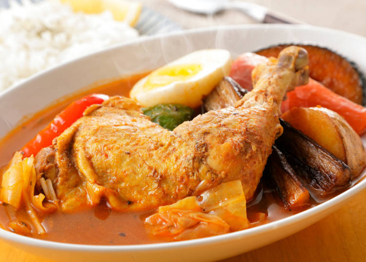 Sapporo cuisine No. 2: Soup curry