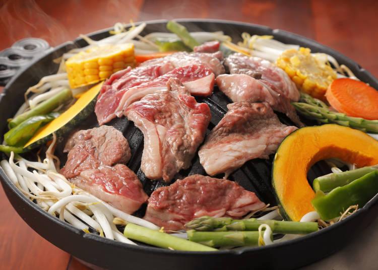 Sapporo cuisine No. 3: Genghis Khan