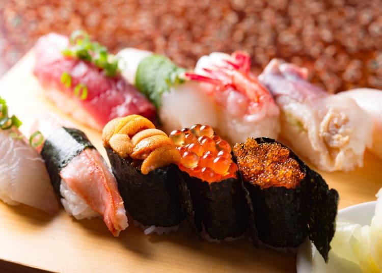 Sapporo cuisine No. 4: Seafood