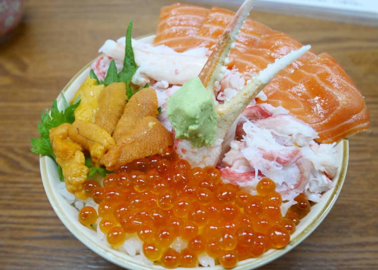 小樽當地美食1 壽司