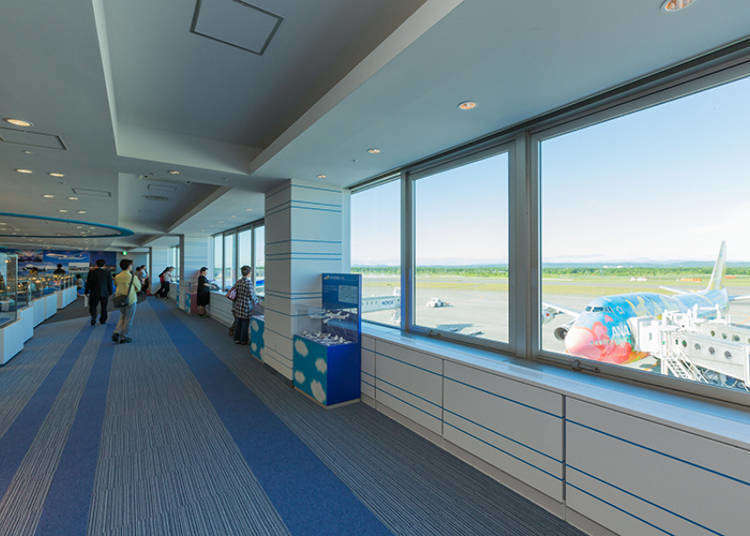 Dining, entertainment and more! A close look at the New Chitose Airport Terminal Building (Part 2 - Facilities)