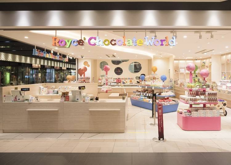 3rd floor connecting path: Smile Road / Royce' Chocolate World