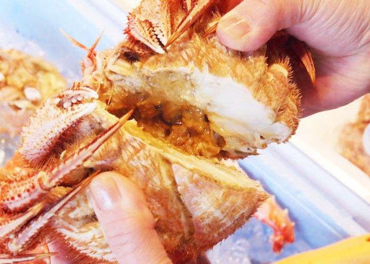 Within walking distance of central Sapporo, Nijo Market has great seafood bowls and crab!