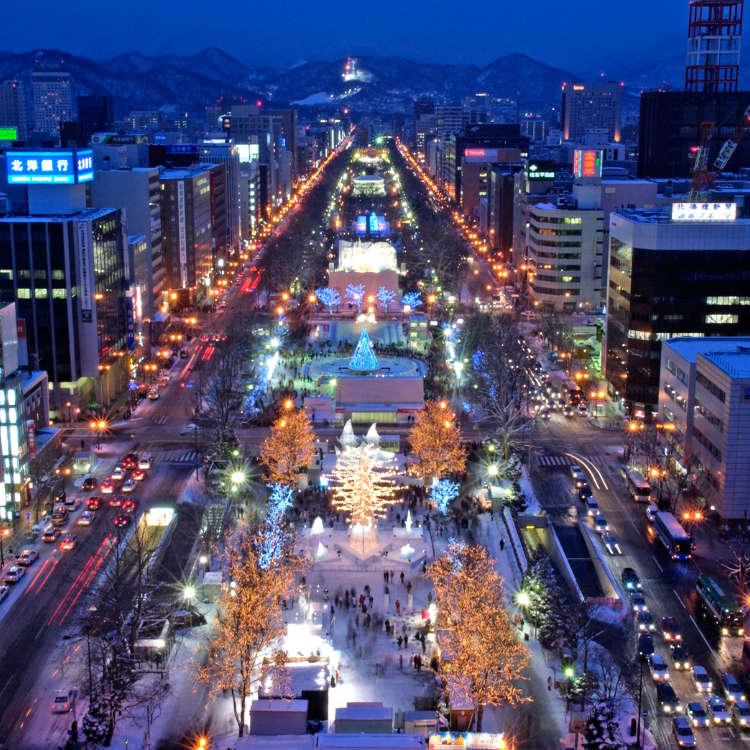 秋天~冬天的北海道焦點活動接踵而來!北海道的超人氣活動月曆!