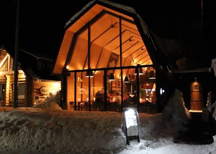 ■北海道農家の納屋をイメージした建物で地元産食材を味わう「The Barn by Odin」