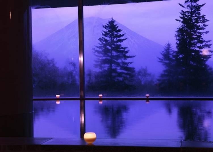◆感受一流飯店的露天浴場「Hilton Niseko Village」