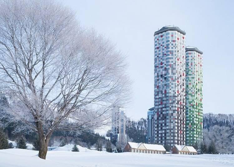 ■使い勝手のよさが魅力のホテル「星野リゾート トマム ザ・タワー」
