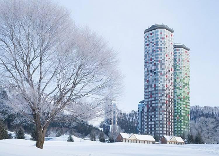 ◆地理位置方便的「Tomamu The Tower」飯店
