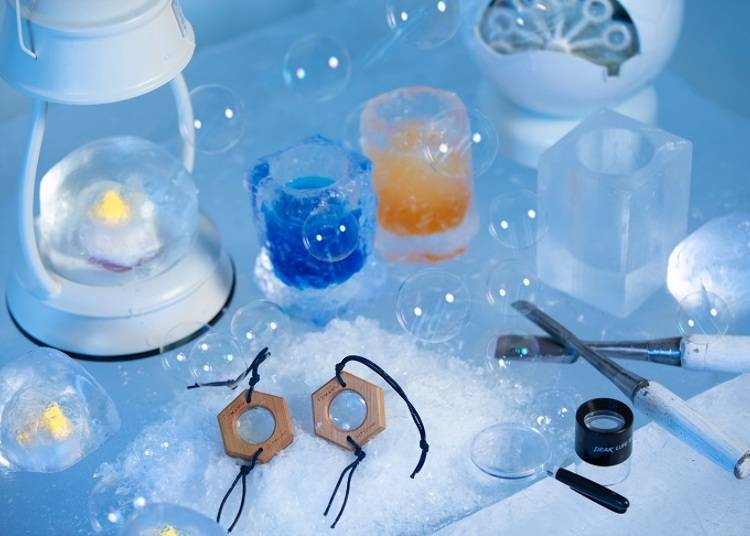 ■ Don't let your memories melt away – enjoy souvenirs from Ice GAO