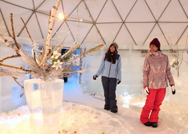 ■ Spread the glittering world at the Ice Shop