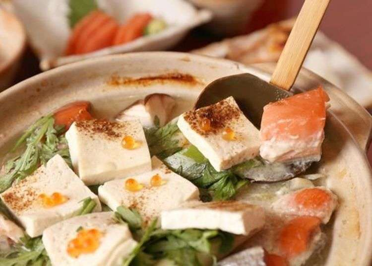 홋카이도 향토요리 [이시카리나베] 발상지 긴다이테에서 본고장의 맛을 만끽하자