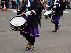 6월 중순 홋카이도 신궁열제(삿포로 축제)