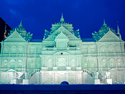 Late January to Mid-February: Sapporo Snow Festival