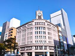 Kawasan lintasan Ginza 4-chome