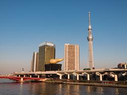 Azuma Bridge area