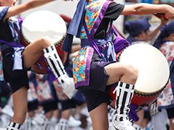 7월 말 신주쿠 에이사 축제