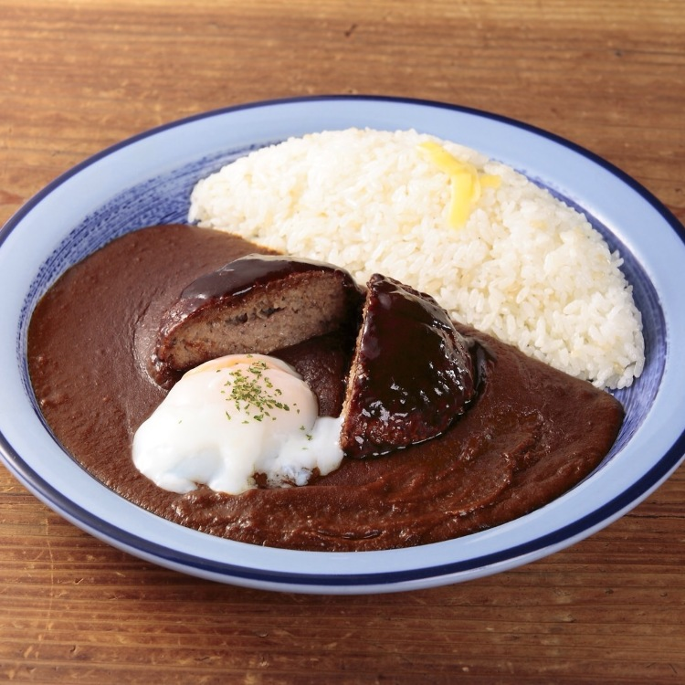 Sales for Newly made HAMBURG CURRY open today at 6:00PM.