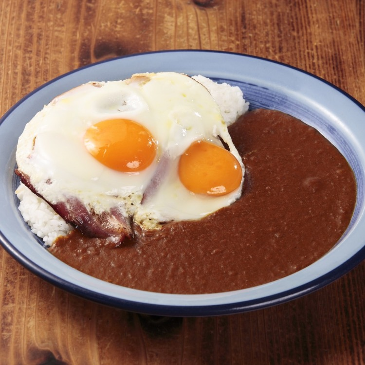 Sales for Newly made BECON EGG CURRY open today at 6:00PM.