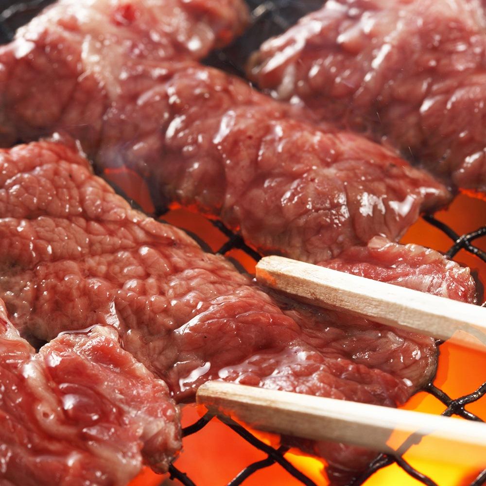 เนื้อย่างบนเตาถ่าน (ยากินิคุ)