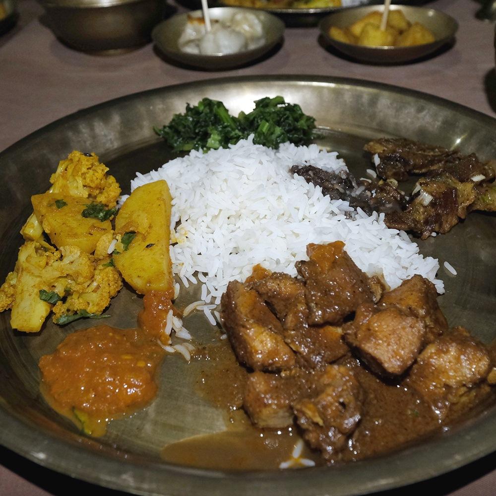 Makanan Nepal