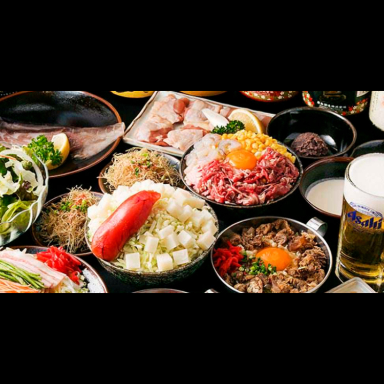 Two-hour all-you-can-drink course (9 dishes)