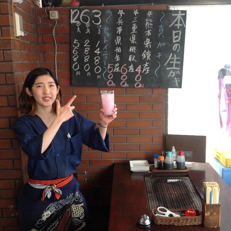 [對於帶著櫻花瓣前來之顧客]贈送一杯櫻花利口酒製飲料! 禮品