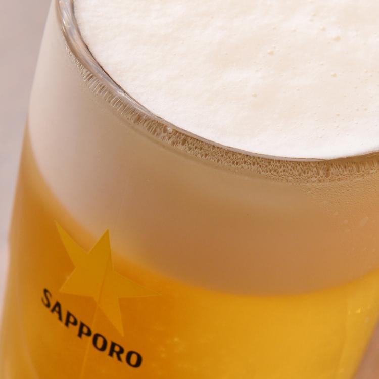 Draft Beer 100JPY OFF