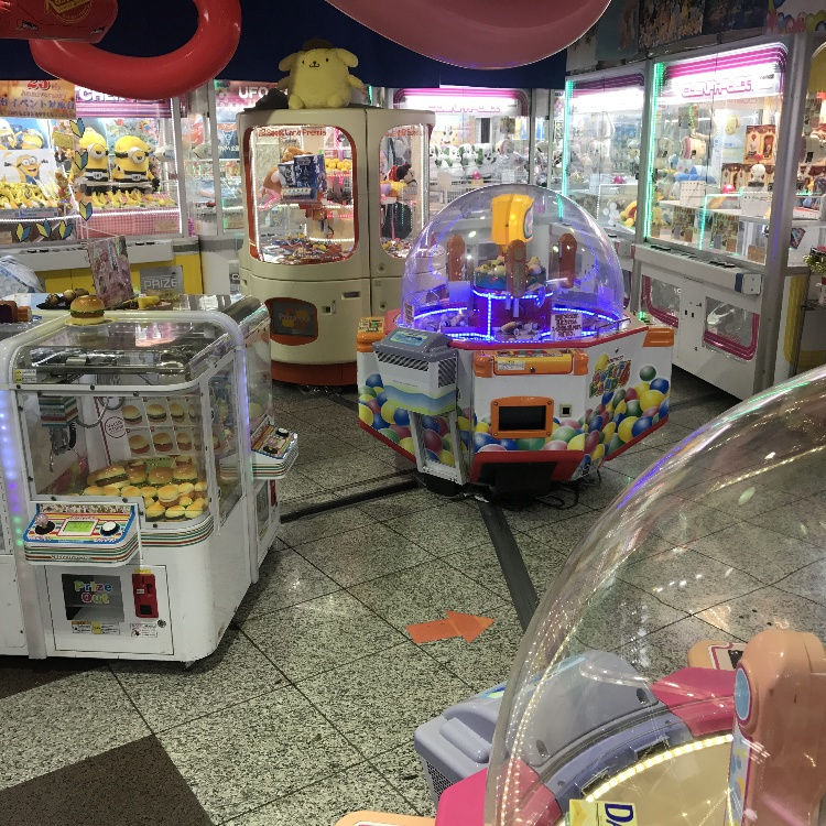 Limited for foreign tourists UFO catcher 1 free.