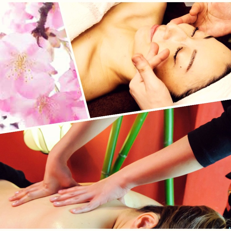 Japanese Aromatic oil 60min & Facial 60min \8000