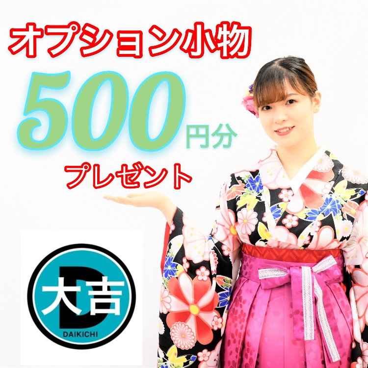 Optional accessories service(Adapted to all plans)500JPY OFF