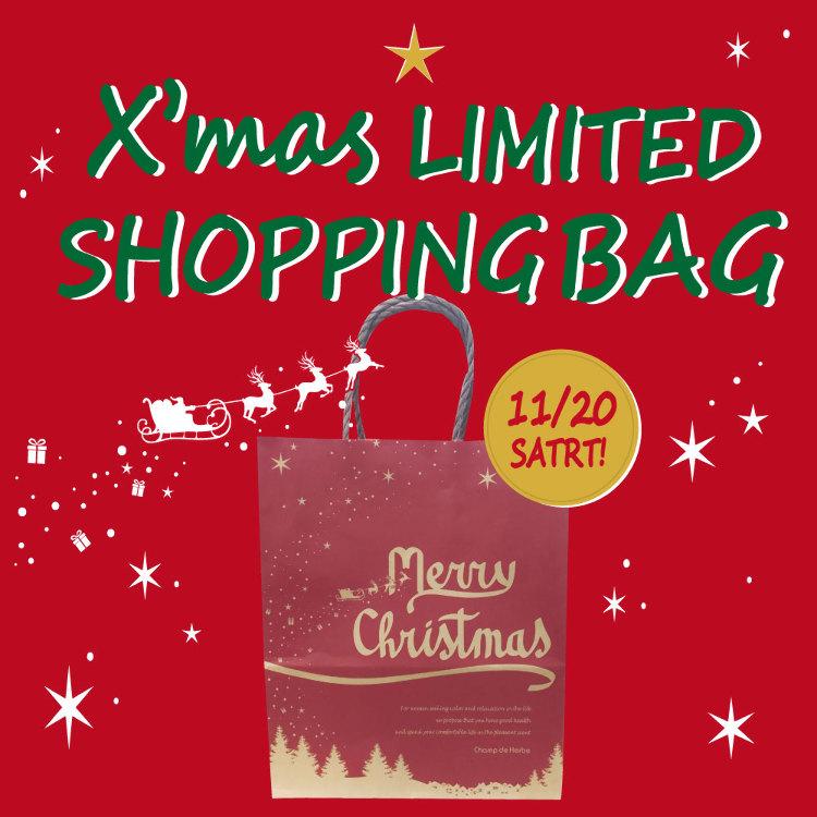 ゜*☆ X'mas Limted shop bag present! ☆*゜