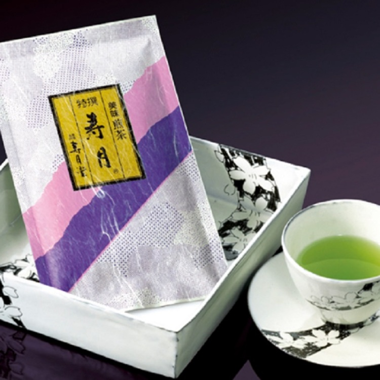 "Our best selling sencha ""Jugetsu"""