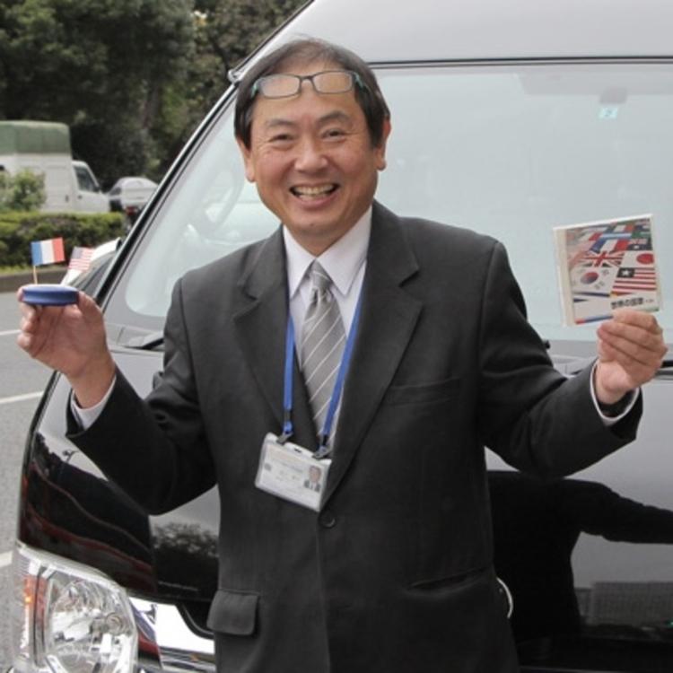 We will introduce guide drivers to guide customers.Masamitsu Miyagawa