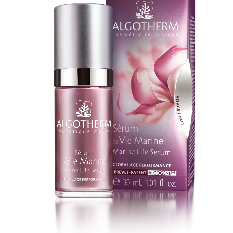 "Essence of the French spa brand a luxury spa of all the countries uses ""ALGOTHERM"""