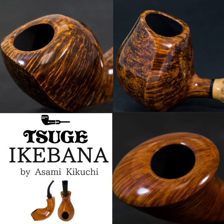 IKEBANA ASAMI KIKUCHI HANDMADE PIPES  Arrived