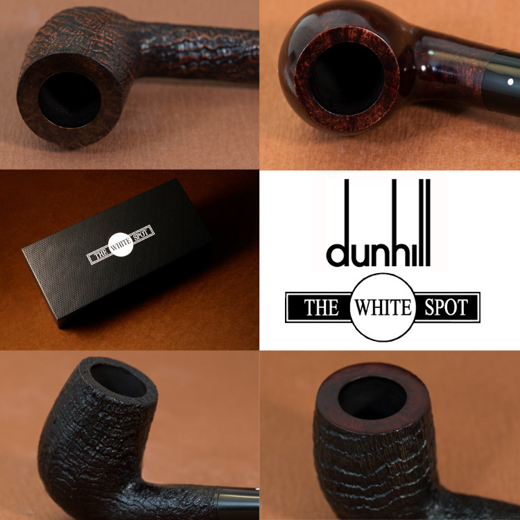 DUNHILL PIPES The white spot Arrived