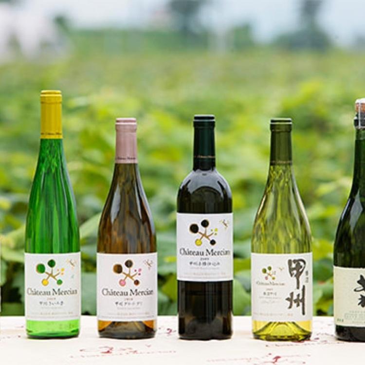 Domestically-produced wine fair!!!