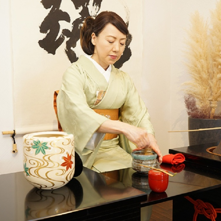 A 20 min. TABLE TEA CEREMONY