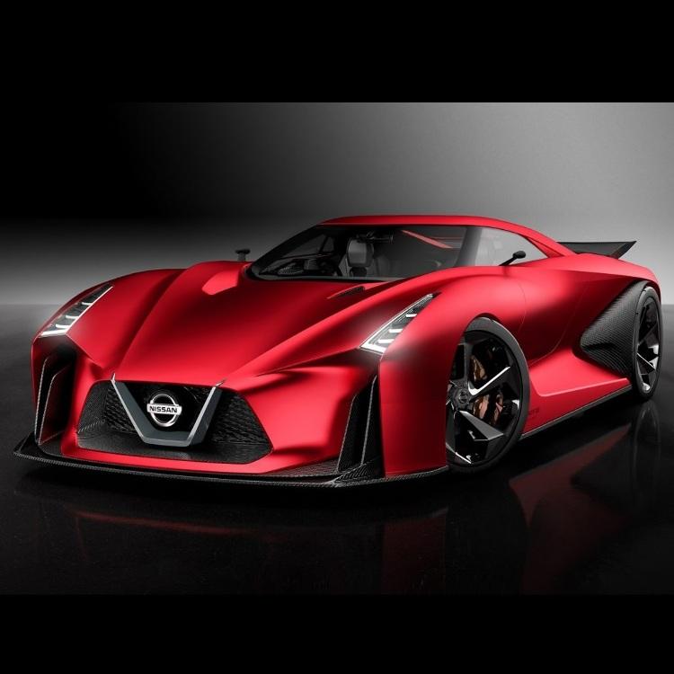 Concept car showcase #NissanCrossing