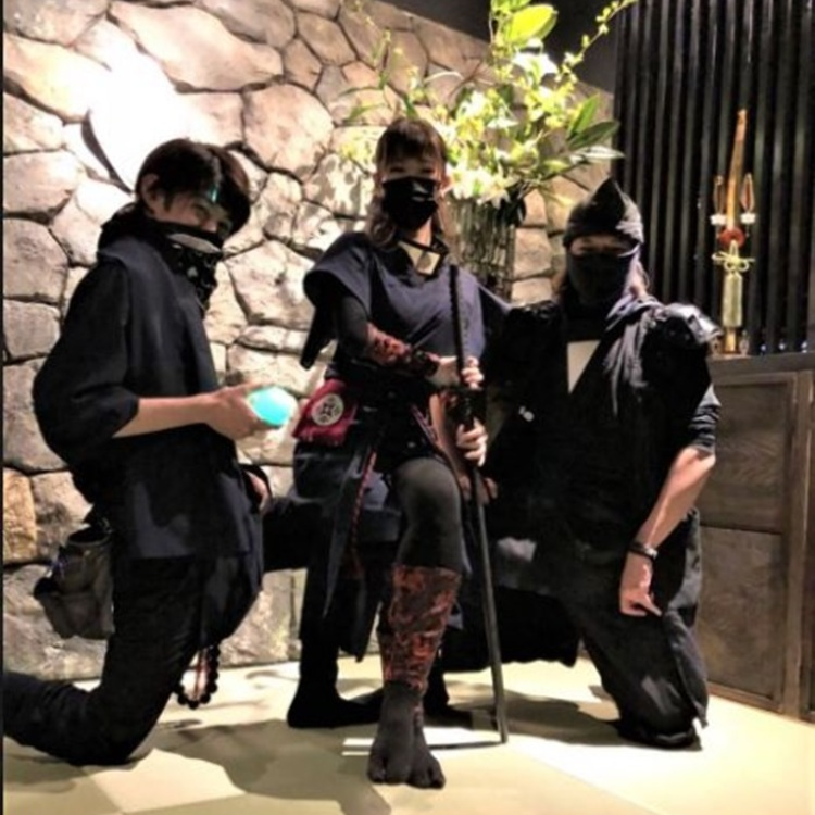 忍者マジックショー