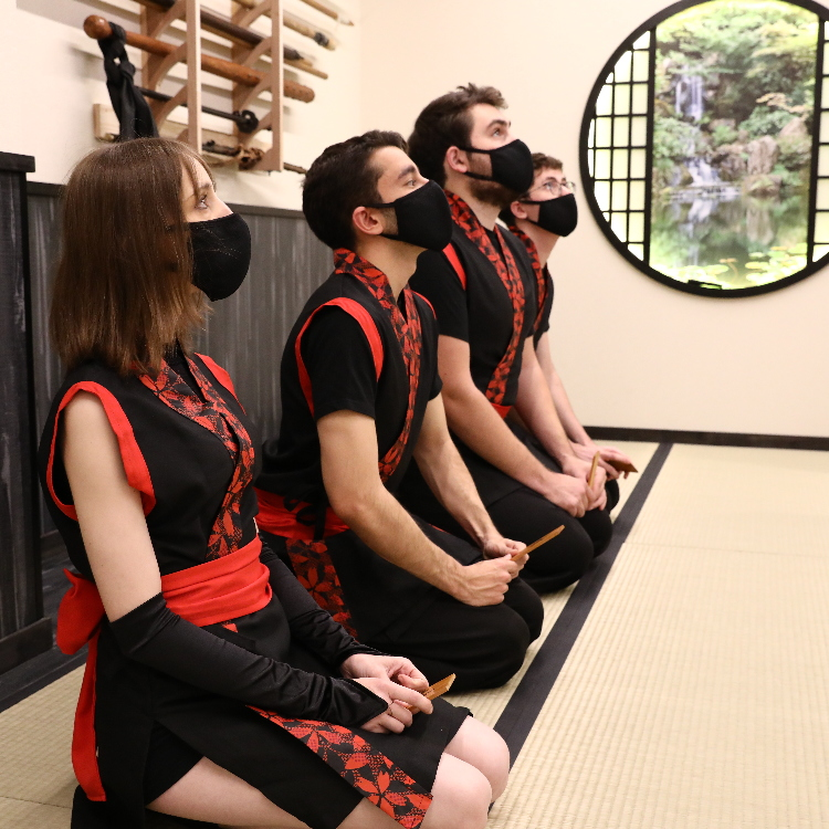 One-day Ninja Experience(short course)1h/4,000(JPY) is born!