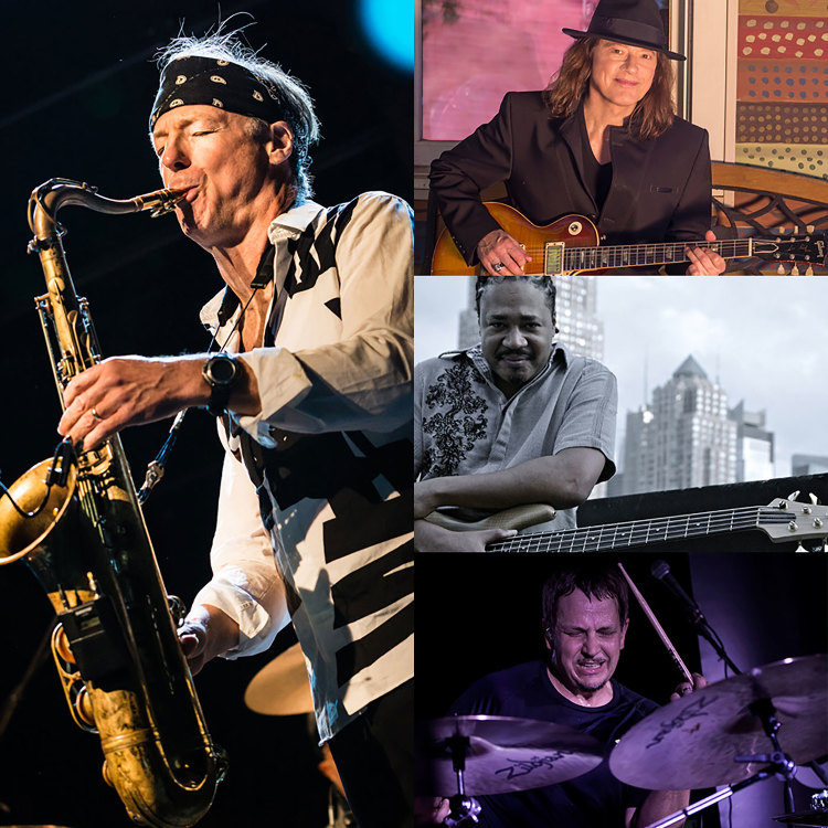 BILL EVANS 30th ANNIVERSARY SUPER BAND  with special guest ROBBEN FORD  featuring JAMES GENUS, KEITH CARLOCK